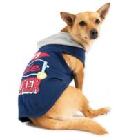 Smoochie Pooch Small Mommy's Little Charmer Hoodie in Navy