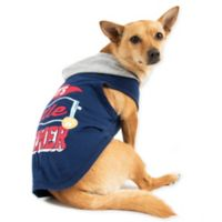 Smoochie Pooch Medium Mommy's Little Charmer Hoodie in Navy