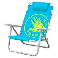 Body Glove 5 Position Beach Chair In Ocean Blue