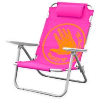 Body Glove 5-Position Beach Chair in Pink