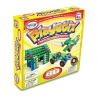 Popular Playthings 80-Piece Playstix Starter Set