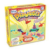 Popular Playthings 68-Piece Playstix Flexible Set