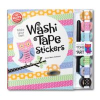 Klutz® Make Your Own Washi Tape Stickers