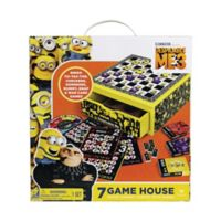 Cardinal Despicable Me 3 7-in-1 Game House Wood Cabinet