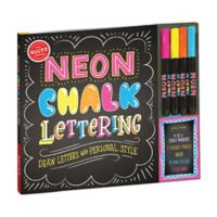 Klutz® Neon Chalk Lettering