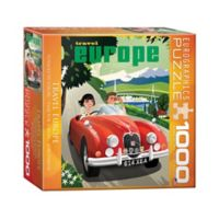 Eurographics Inc Travel Europe 1000-Piece Jigsaw Puzzle