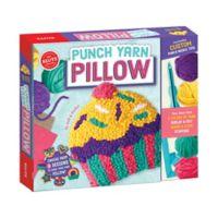 Klutz® Punch Yarn Pillow