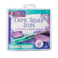 Educational Insights® Crime Solver Scope & Forensic Activity Journal