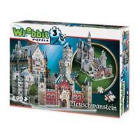 Wrebbit™ 890-Piece Neuschwanstein Castle 3D Puzzle