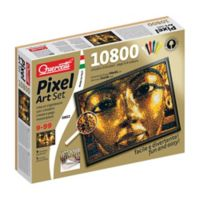 Quercetti 10800-Piece King Tut Pixel Art Set