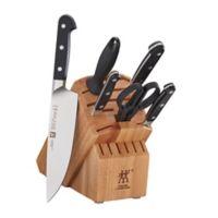 Zwilling® J.A. Henckels Pro 7-Piece Rubberwood Knife Block Set in Natural