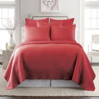 Levtex Home Torrey Reversible King Quilt Set in Red
