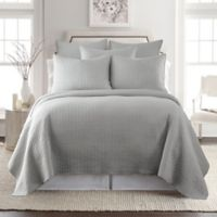 Levtex Home Torrey Reversible King Quilt Set in Light Grey