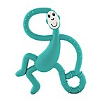 Matchstick Monkey™ Dancing Monkey Teether in Teal