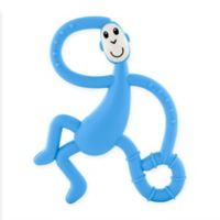 Matchstick Monkey™ Dancing Monkey Teether in Light Blue