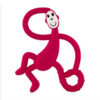 Matchstick Monkey™ Dancing Monkey Teether in Red