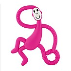 Matchstick Monkey™ Dancing Monkey Teether in Pink