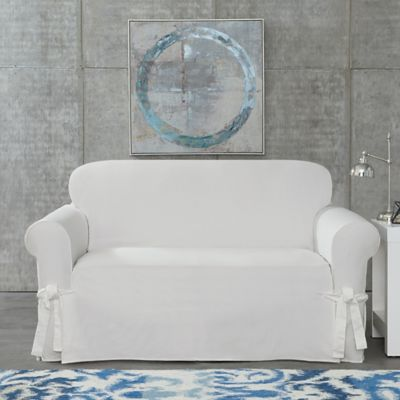 new white pin loveseat ikea slipcover seat sofa ektorp ebay on nip blekinge cover