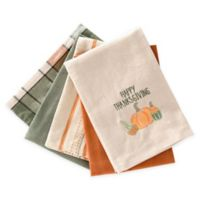 Happy Thanksgiving 5-Pack Kitchen Towels
