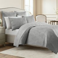 Wamsutta® Bliss King Coverlet in Steel Grey