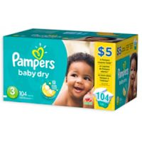 Pampers® Baby-Dry 104-Count Size 3 Disposable Super Pack Diapers