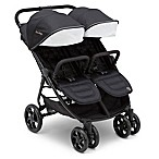 J is for Jeep® Destination Ultralight Double Stroller in Midnight