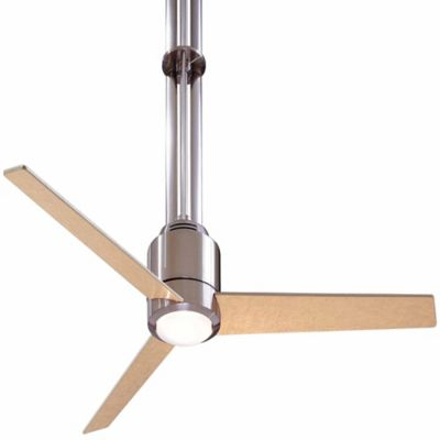 Buy brushed nickel and white ceiling fan from bed bath beyond minka aire flyte 56 inch ceiling fan in brushed nickel aloadofball Images