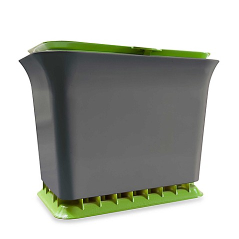 Fresh Air Odor-Free Kitchen Compost Collector in Grey