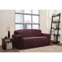 Smart Fit 1-Piece Connor Sofa Slipcover in Garnet