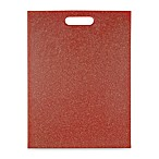 Architec® Poly-Flax 12-Inch x 16-Inch Cutting Board in Red