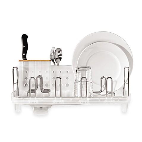 Simplehuman 174 Open Frame Dish Rack Bed Bath Amp Beyond