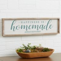 Happiness Is Homemade Barnwood Frame Wall Art