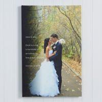 Wedding Sentiments 12-Inch x 18-Inch Canvas Print
