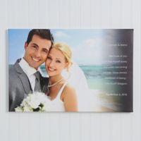 Wedding Sentiments 24-Inch x 36-Inch Canvas Print