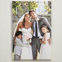Wedding Memories 12-Inch x 18-Inch Photo Canvas Print