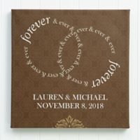 Forever and Ever 16-Inch x 16-Inch Canvas Print