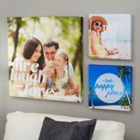 Photo Expressions 20-Inch x 20-Inch Canvas Print.