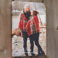 Our Photo Memories 20-Inch x 30-Inch Canvas Print