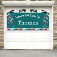 Birthday Boy Party Banner