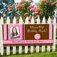 Birthday Party Photo Banner