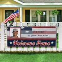 Military Proud Photo Banner