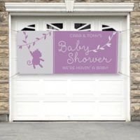 Baby Zoo Animals Baby Shower Banner