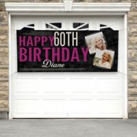 Vintage Age Birthday Photo Banner