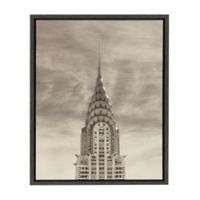 Kate and Laurel Sylvie Empire State Building 18-inch x 24-Inch Canvas Art by Robert Cadloff
