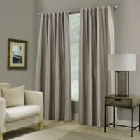 Paradise 95-Inch Rod Pocket/Back Tab Room Darkening Window Curtain Panel in Stone