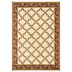 Safavieh Lyndhurst Flower and Vine Rug in Ivory