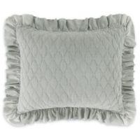 Levtex Home Sandwash Standard Pillow Sham in Blue