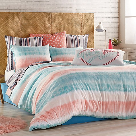 image of Hang Ten Tie Dye Comforter Set