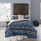 Anthology™ Henley Reversible Queen Comforter Set in Blue
