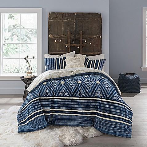 Image Of Anthology Henley Reversible Comforter Set
